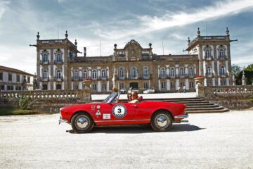classic cars tour in Portugal