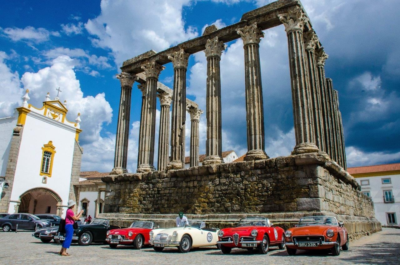 private classic cars tours 2018